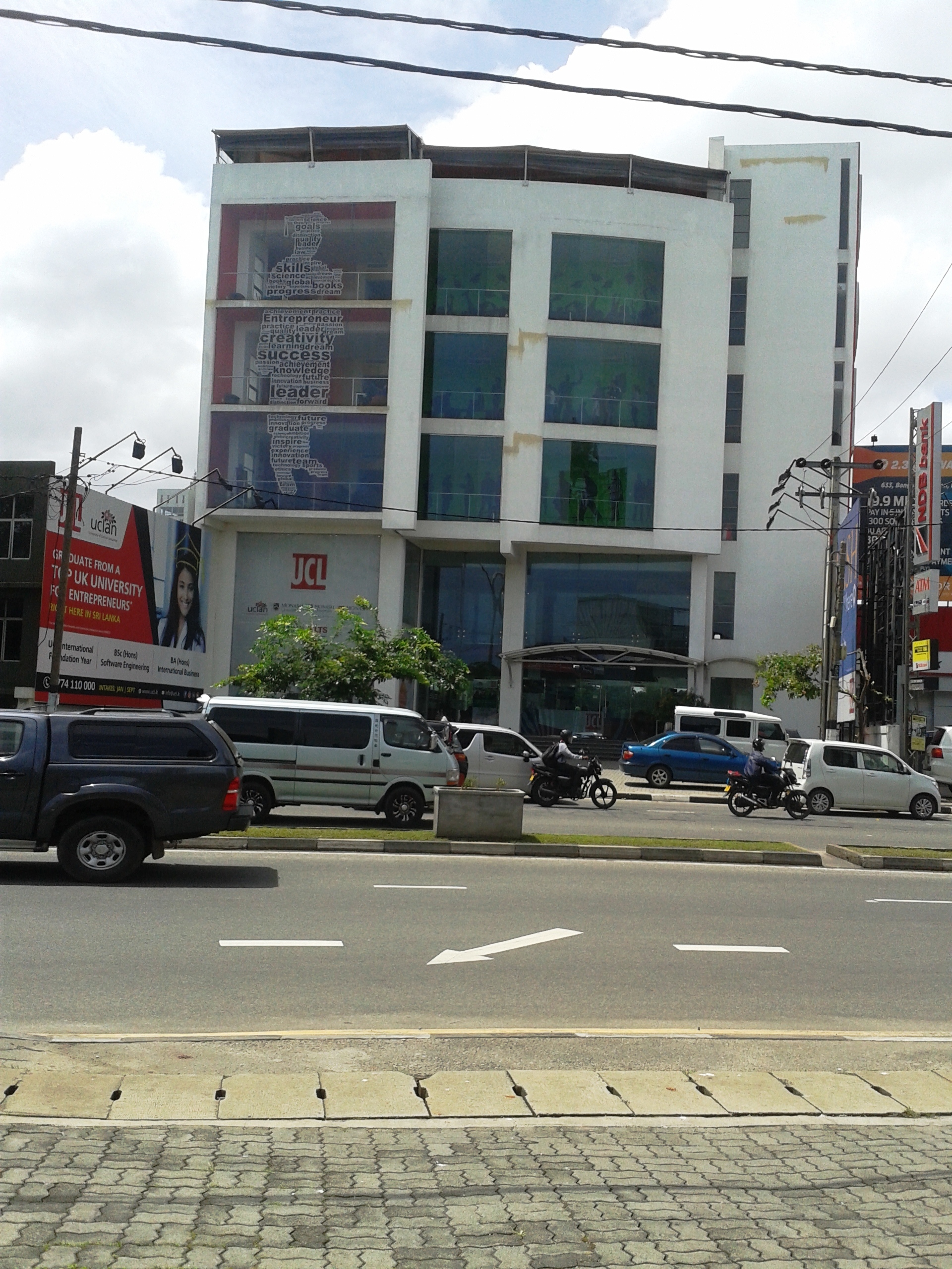 OFFICE COMPLEX AT SRI JAYAWARDHANAPURA, KOTTE, SRI LANKA